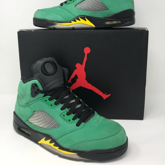 808f3472c3f01 Air Jordan Shoes | Sold Jordan Oregon Ducks Retro 5 | Poshmark